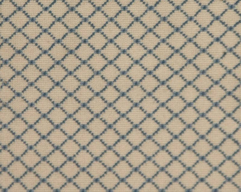 Carpet sample from Stark: Danbury: Blue/blue/white. MFR SKU: B05BBWTBOUC0042 635787
