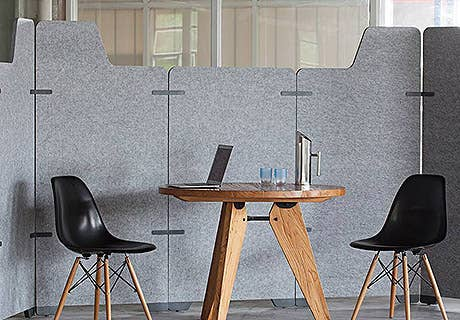 Sound Absorbing Space Dividers